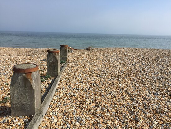 5.  Pett Level Beach, Pett Level, East Sussex