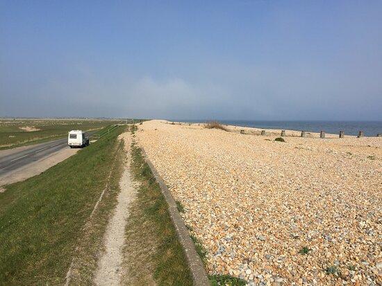 7.  Pett Level Beach, Pett Level, East Sussex