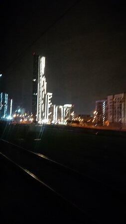 от Киевского вокзала по МЦК в СПб