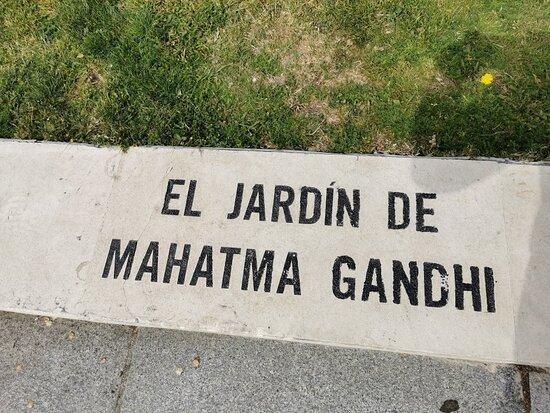 Estatua De Mahatma Gandhi