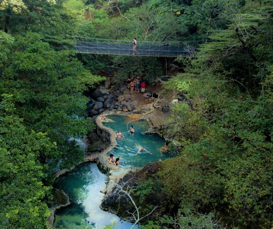 Rio Negro Hot Springs free access for Hotel Guests