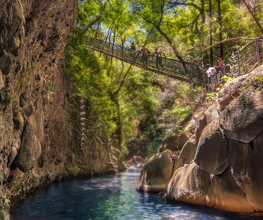 Hanging Bridge La Oropendola Waterfall free access for Hotel Guests