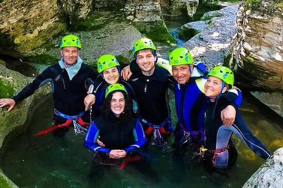 Canyoning in the Dolomites (Lake Santa Croce, Val Maggiore)