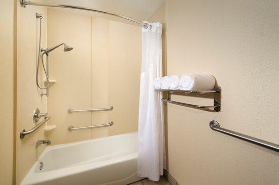 ADA Guest Bathroom with Bathtub