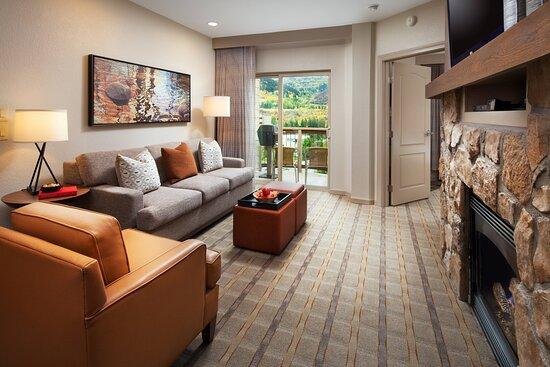One-Bedroom Villa - Living Area