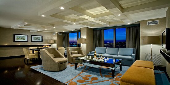 Dining in is no problem in our Presidential Suite.