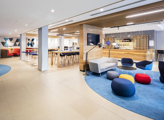 Our spacious and welcoming lobby area