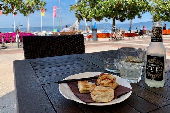 Cisano, Ιταλία: Ginger Beer analcolica prima di pranzo