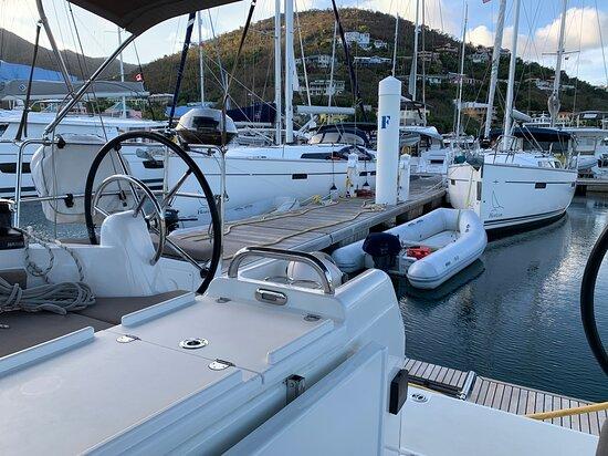 Tortola: Horizon Yacht Charter base at Nanny Cay BVI