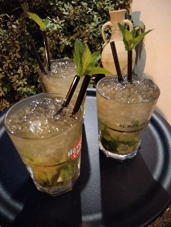 Carte de cocktails