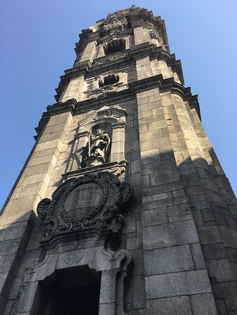 Clérigos tower was built in 1732 and it is classified as a National Patrimony having a baroque style in Porto
