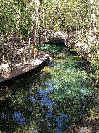 cenotes hilario's well y la gloria en Rancho la Teresita