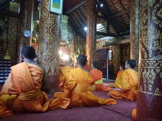 Inside in Temple