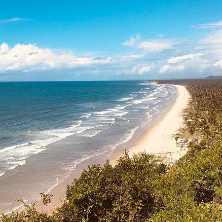 Mirante Serra Grande e praia Pé de Serra.