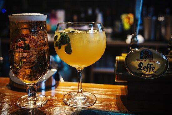 Birra Moretti & Gin Apple Fizz cocktail