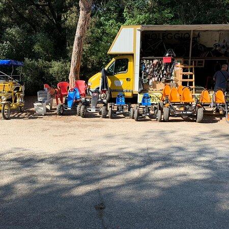 Lido di Ostia, Italien: Noleggio bici gokart a pedali riscio'  riparazioni e assistenza , Bici elettriche solo su prenotazione  vendita usato e nuovo