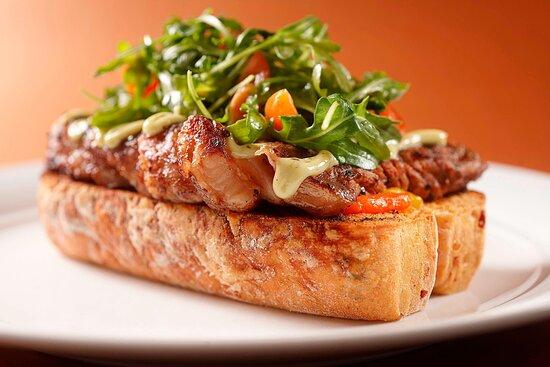 Latest Recipe - Steak Sandwich