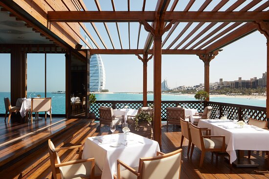 A multi-award-winning Italian restaurant in a serene setting on the hotel's private pier