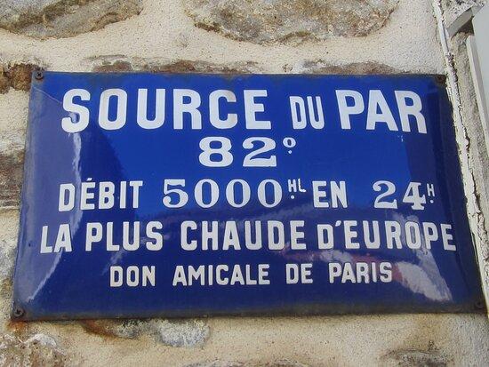 Fontaine Chaude Du Par