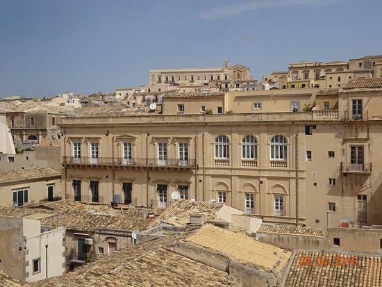 The view from San Carlo Borromeo's balconies - Noto, Sicily