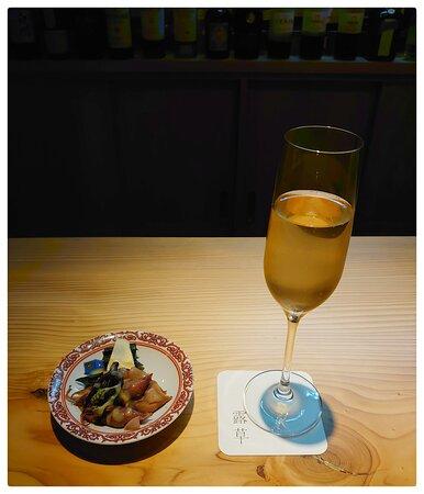 お寿司とワインのペアリング