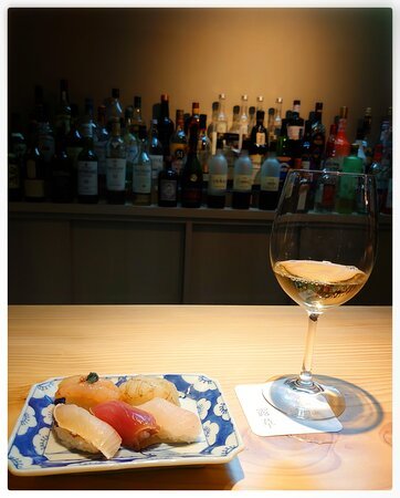 Wine with Sushi
