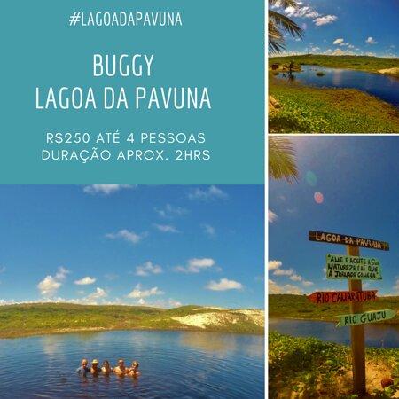 Barra de Camaratuba, PB: uma linda lagoa à beira mar....de buggy é mais gostoso