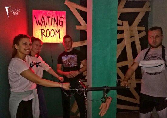 Escape room Door 404