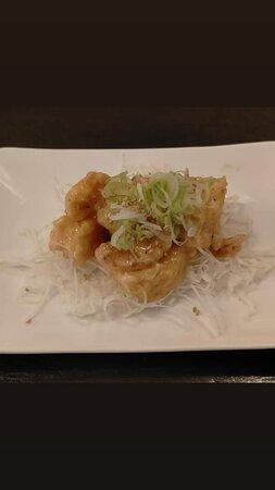 Ebi-mayo (tempura de crevette sauce mayonnaise)