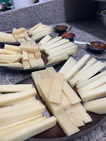 Vaiano, إيطاليا: formaggi