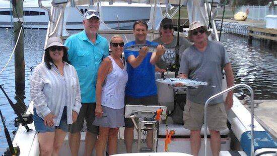 Deep Sea Fishing on my Birthday