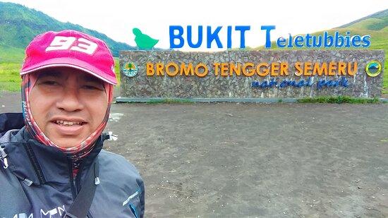 Bromo Tengger Semeru National Park, Indonesia: Bukit Teletubbies