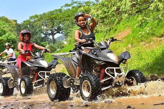 ATV, River Tubing y Blue Hole Falls desde Ocho Ríos, Montego Bay y...