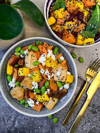 Gesunde Mittagspause ohne Mittagstief? Komm vorbei und überzeug' dich selbst. Wir freuen uns auf dich!