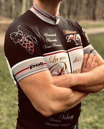 Notre maillot de vélo a été conçu pour les amoureux de la région