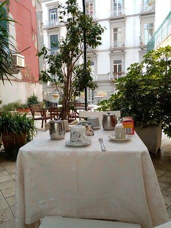 terrazza colazione
