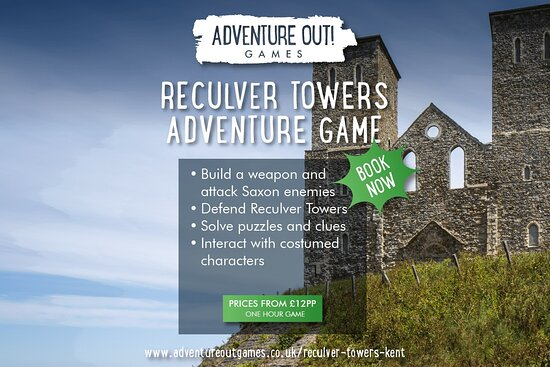 Adventure Out Game Reculver Towers