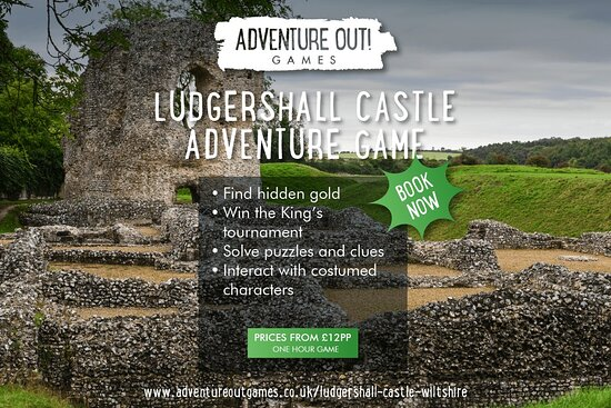Adventure Out Game Ludgershall Castle