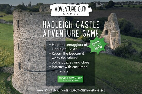 Adventure Out Game Hadleigh Castle