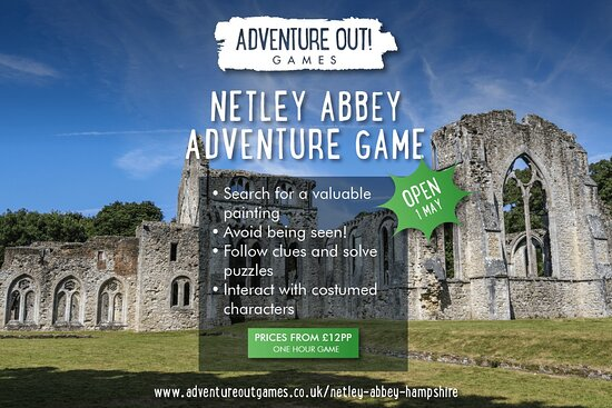 Adventure Out Game Netley Abbey