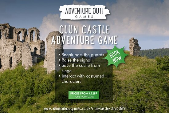 Adventure Out Game Clun Castle