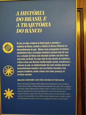 História do B. do Brasil.