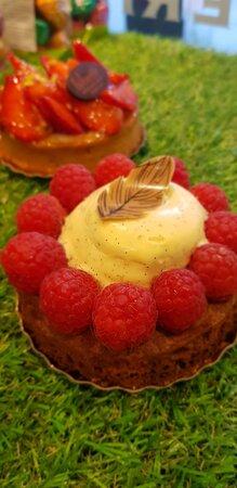 Strasbourg, Prancis: Tartelette aux fruits