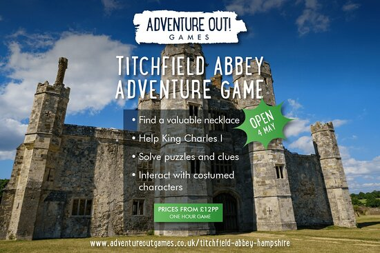 Adventure Out Game Titchfield Abbey