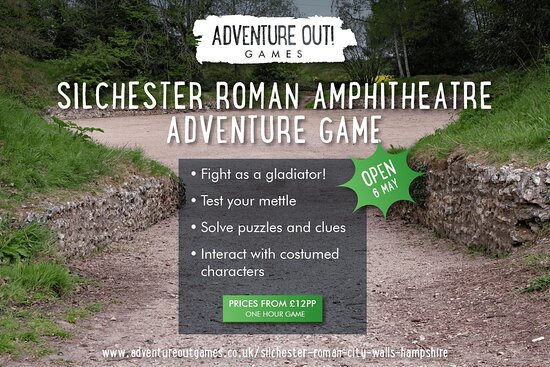 Adventure Out Game Silchester Roman City Walls