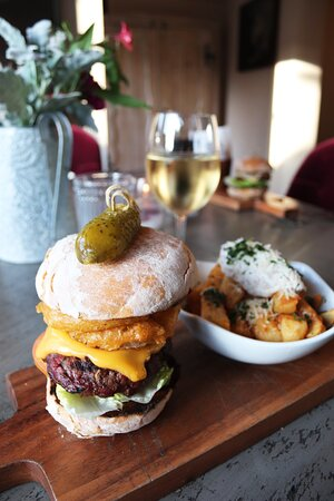Mouthwatering Burgers on offer at The Meynell Ingram Arms