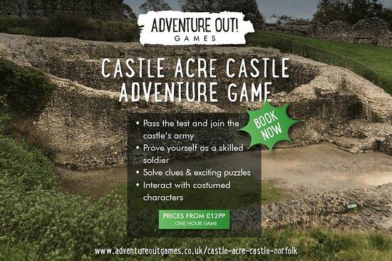 Adventure Out Game Castle Acre Castle