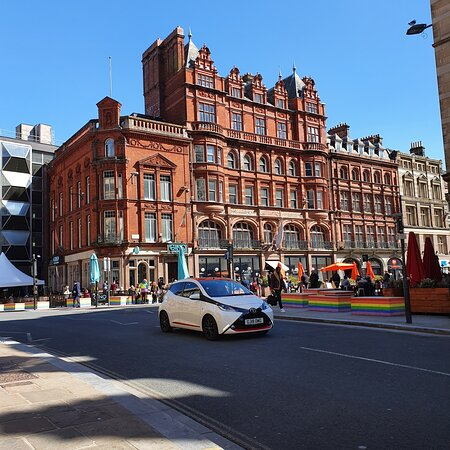 Great architecture along Castle Street