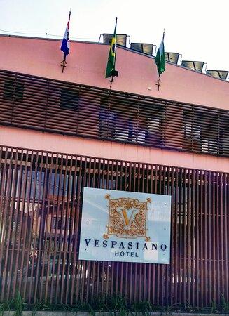 Fachada Vespasiano Hotel - Picture of Vespasiano Hotel - Telêmaco Borba, Telemaco Borba - Tripadvisor