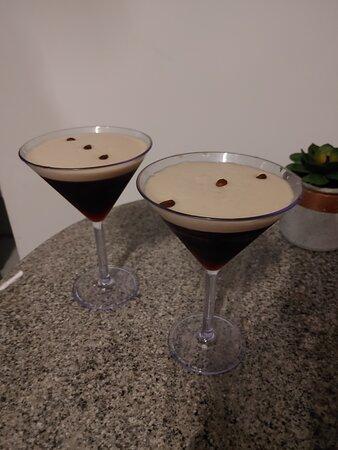 Husband favorite drink, the espresso martini